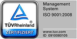 TÜV Rheinland Management System ISO 9001:2008